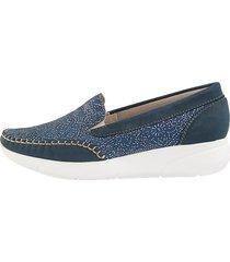 loafers naturläufer blå