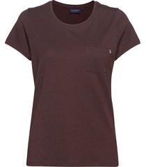 ashley jersey tee t-shirts & tops short-sleeved brun lexington clothing