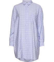 nuaobh shirt tunika blå nümph