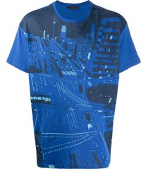 yts0042 printed oversize t-shirt