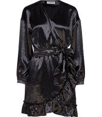 elena jurk knielengte zwart fall winter spring summer
