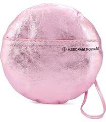 mm6 maison margiela round clutch bag - pink