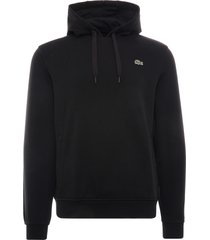 lacoste sport fleece hoodie | noir | sh1527-c31