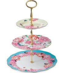 miranda kerr for royal albert cake stand three-tier