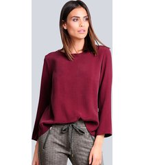 blouse alba moda bordeaux