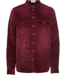 camicetta in velluto (rosso) - john baner jeanswear