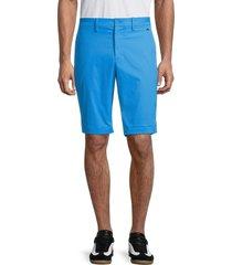 j. lindeberg men's eddy twill shorts - true blue - size 29