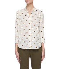'camilee' bee print shirt