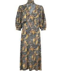 5s1246-30236 tricot print jurk
