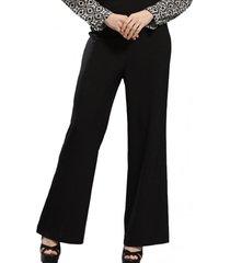 pantalón flare negro nicopoly