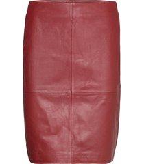 2nd cecilia kort kjol röd 2ndday