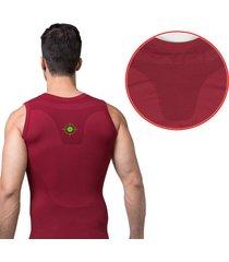 gilet corsetto da uomo snellente body trainer da allenamento senza maniche shapewear