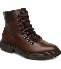 crepetray hybrid w shoes boots ankle boots ankle boots flat heel brun ecco