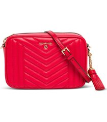 michael kors jet set crossbody bag in quilted leather