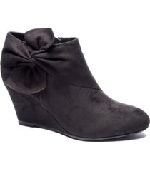 cl by chinese laundry women's vivid wedge ankle booties women's shoes