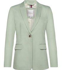 cotton pastel sb blazer blazer colbert groen tommy hilfiger