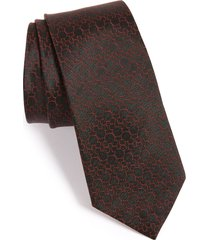 men's cufflinks, inc. 'disney - mickey mouse' silk tie, size regular - black