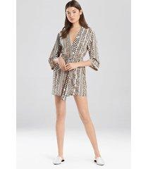 shiloh- jetset kimono robe, women's, beige, size s, josie