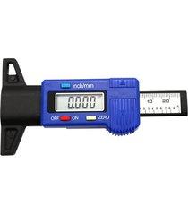 0-25 mm de profundidad de la banda de rodadura del neumático digital calibre probador medidor medidor de pinza de herramienta