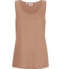 top ampio in lino (marrone) - bpc bonprix collection