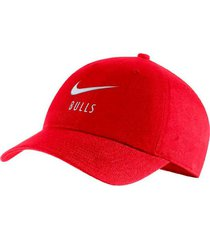 gorra roja nike chicago bulls heritage rojo