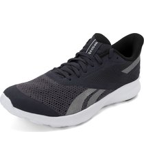 tenis running azul-gris-blanco reebok speed breeze
