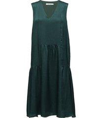 masina dress ao18 jurk knielengte groen gestuz