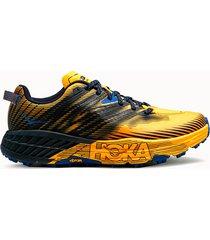 hoka one one sneakers speedgoat 4 colore giallo blu
