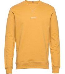 lens sweatshirt sweat-shirt tröja gul les deux