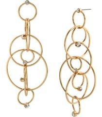 jessica simpson stone rings chandelier earrings
