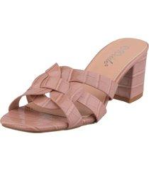 sandalia ayaka rosado weide