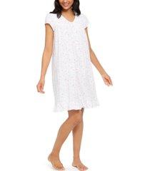 eileen west cotton floral-print nightgown