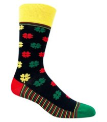 love sock company men's casual socks - love clover