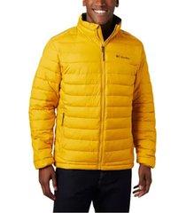 chaqueta hombre amarillo  powder lite columbia