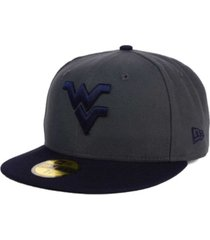 new era west virginia mountaineers ac 59fifty cap