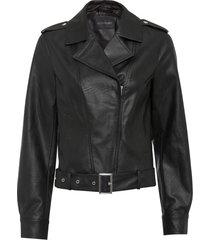 giacca biker (nero) - bodyflirt