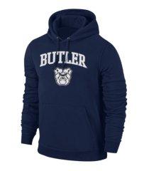 retro brand butler bulldogs men's midsize screen print hooded sweatshirt