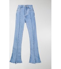 y/project flared trumpet jeans