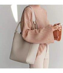 secchio in pelle pu per donna borsa crossbody casual borsa spalla a grande capacità borsa