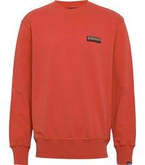 base c 1 sweat-shirt trui rood napapijri