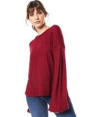 sweater bordeaux zulas calixto