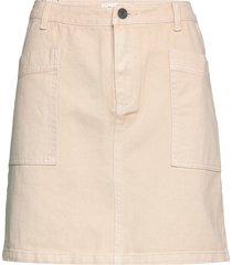 bello skirt kort kjol beige modström