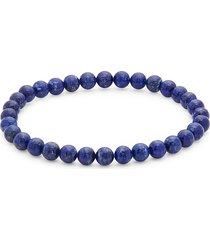 effy men's men's lazuli lapis beaded bracelet - blue