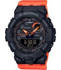 reloj g-shock modelo relojeria naranja hombre