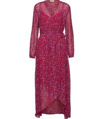leslie maxi dress galajurk rood custommade