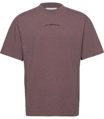 boxy tee t-shirts short-sleeved brun han kjøbenhavn