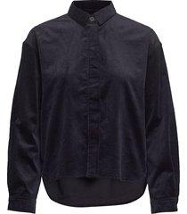kelly overshirt 11153 overhemd met lange mouwen blauw samsøe samsøe