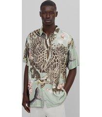 overhemd met animalprint