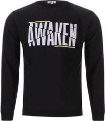 buzo awaken color negro, talla xs
