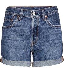 501 rolled short orinda troy s shorts denim shorts blå levi´s women